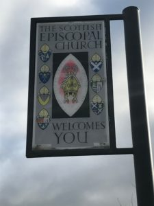 Scottish Episcopal pub sign